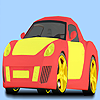 Fast white car coloring A Free Customize Game
