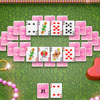 This is online nice colorful variation of the popular patience game Tri-peaks. The game goal is to put all cards from the tableau to the discard pile.  Available tableau cards can be moved to the discard pile, which builds up or down circularly without regard to suit.