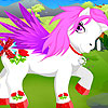 Cute Pony Dress up game.