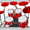 Play drums with your keyboard or mouse.