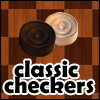 a classic version of checkers