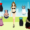Fashion Model Dress Up