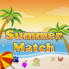 Summer Match, is a free match three flash game. Your goal is to get as many points in 90 seconds  as possible. Swap elements of the same color and  create horizontal or vertical sets. The bigger those sets the higher your score!