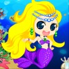 Cute Little Mermaid A Free Dress-Up Game