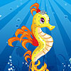 Sea Horse dress up game.