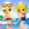Sisters Ready To Swim A Free Dress-Up Game