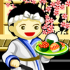 Be a master sushi chef with 30 different sushi recipes in a sushi-go-round table. Combine with a puzzle game play, serve as many customers as you can.