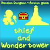 Let`s go to steal treasure of the 24th floor of the tower.  random map+action game.