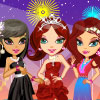 Fascinating Party Girls A Free Dress-Up Game