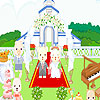 Cute wedding design