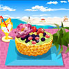 Its summer time and that means its time for fun foods, trips to the beach and outdoor picnics! Fruit salad is something you will find at most picnics and this game allows you make it just the way you like. Prepare the yummiest most delicious looking fruit salad and share it with you friends!