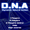 D.N.A Dynamic Neural Action A Free Action Game