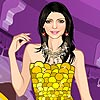Strapless Fashion Girl Dress up game.
