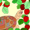 Kids coloring: Sweet berry