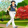 Athlete girl dress up A Free Dress-Up Game