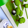 Bomb Ball Catcher A Free Action Game