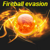 Fireball evasion A Free Action Game