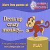 Dress up crazy monkey A Free Dress-Up Game