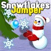 Snowflake Jumper A Free Action Game