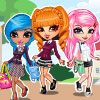 Cutie Trend-School Girl Group Dress Up A Free Dress-Up Game