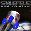 Shuttle Rescue the astronauts Save people with Arrows Keys Beware of gravity planet !