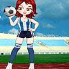 Soccer Girl Dressup