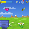 By controlling the player has bee gather nectar and bring it to the hive.