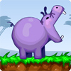 African hippos are starving! They are lost and all alone. You must help them! Try to take watermelon and throw it to hippo! Very fun game - you can feed the hippos with pepper and stones and birds)
