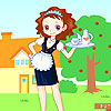 Waitress dress up A Free Dress-Up Game