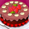 Decorate your favorite chocolate cake. Have a tasty decoration and more fun