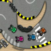 "If you like competitions and racing games,  this game ""Track Karting"" is the game for you. You have to race against three other kart racers and to overcome them in order to pass to the next level. Be the best and win the competition."