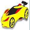 Fast car coloring