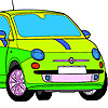 Mini Car Coloring