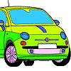 Mini Car Coloring Game.