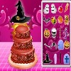A Halloween game where you have to decorate a cake as delicious in a most mysterious and strange because all things are strange on Halloween when ghosts appear.