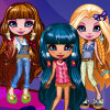 You will be a fashion designer. The three fashion girls will be your model. You can design the dress by yourself and save them. Then you will get the chance to go the match! Play it now!