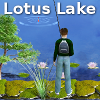 Lake Fishing: Lotus Lake A Free Action Game