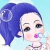 Bubble Girl A Free Dress-Up Game