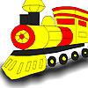 Great locomotive coloring