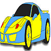 Fast yellow car coloring A Free Customize Game