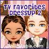 TV Favorites Dressup Game 2 - Greekie A Free Customize Game