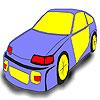 Mediocre car coloring