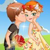 Kiss in the park A Free Dress-Up Game