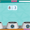 English version of our Szybka Matematyka math game. Drag falling math operations and put them in bowls with proper results.
