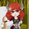 Warrior Jungle Girl A Free Dress-Up Game