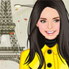 Paris chic  in the rain A Free Dress-Up Game