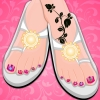 Flower Pedicure Decoration A Free Customize Game