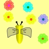 Help the bee to collect flowers. Avoid the insects that will hurt the bee. Take care of bee`s hunger.