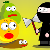 Help the ninja throw his magical axe at the monsters and save the fairies. 10 levels of intense action.
