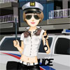 Dress up this cop with plenty of police outfits and fashionable accessories!